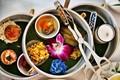 Afternoon tea at the (Mandarin) Oriental.