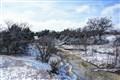 Snow on Wilson Creek, Texas