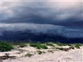 Storm Coming at the Beach