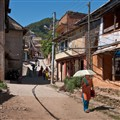 On Her Way Home (or Elsewhere), Ghorka Village, Nepal