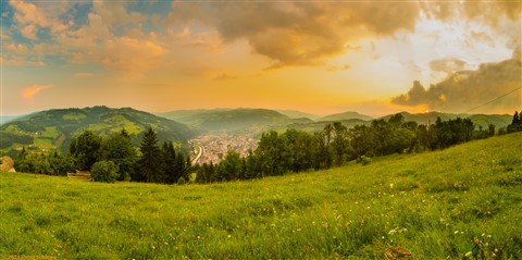 Sunset at Câmpeni / Transylvania / Romania