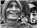 Old Cambodian woman