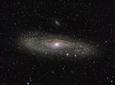 Andromeda Galaxy FZ200 Final IV