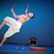 An airborn Manipuri Dance Perfomer