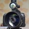 Red dot gunsight mount front reflections