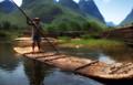 Li River Raft- China