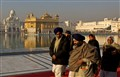 Early morning at the Golden Temple.