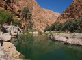 Wadi Shab pool in Oman