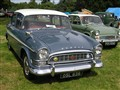 Humber Super Snipe Series II with a Hillman Minx Series V in the background