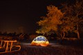 Tenting in Arizona