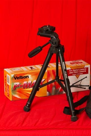 Velbon P-Max lightweight tripod