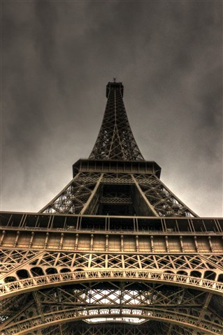 The Eifeltower looking over me