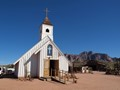 Wild west church