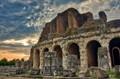 Coliseum near Naples, built by Spartacus.