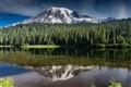 Mt Rainer and reflection lake