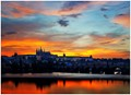 Sunset over Prague - Czech Republic