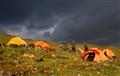 Yellow Tents