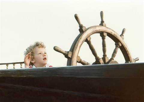 Michael at Helm