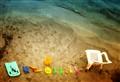 plastic beach