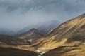 Desolate highlands of the Himalayas