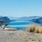 Picnic table overlooking lake: Shuswap lake, BC, Canada