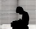 silhouette alone