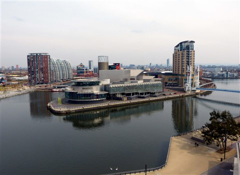 A view of The Lowry