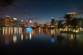 Lake Eola, in downtown Orlando, the heart of The City Beautiful.