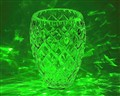 Laser painted vase
