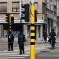 Zebra Crossing in Antwerp