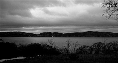 Looking across the Hudson from Croton