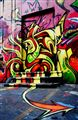 ...the art graffitti door/Queens/Newyork...
